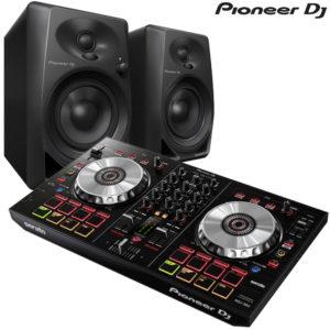 Pioneer DDJ-SB3 + DM40 Combo