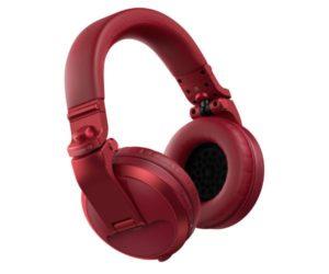 Pioneer HDJ-X5BT- R Bluetooth DJ Headphones – Red