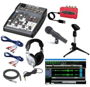 Behringer Podcastudio USB Combo