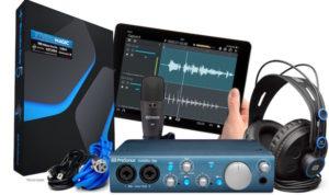 Presonus Audiobox iTwo Studio Digital Recording Package