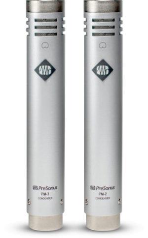 Presonus PM-2 Cardioid Condenser Microphones