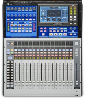 Presonus StudioLive 16: 24-input Digital Console/Recorder with Motorized Faders