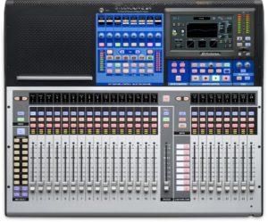 Presonus StudioLive 24: 32-input Digital Console/Recorder with Motorized Faders