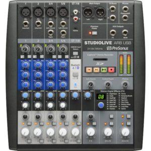 Presonus StudioLive AR8 8-ch Hybrid Performance and Recording Mixer
