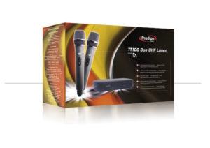 Prodipe TT100 Duo UHF Lanen Wireless Microphone
