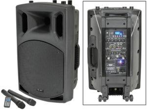 QTX QX15A 15″ Portable PA with USB/SD/FM & Bluetooth