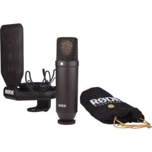 RODE NT1 1″ Cardioid Condenser Studio Microphone