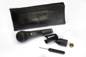 RODE M1-S Dynamic Microphone with Lockable Switch