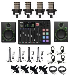 RODE Rodecaster Pro Podcast Production Combo 2