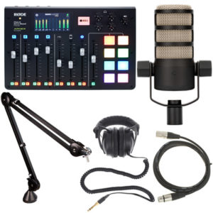 RODE Rodecaster Pro Podacast Production Combo 1