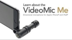 RODE VideoMic Me – Mic for iPhone & Tablet