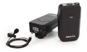 RODELINK Filmmaker Kit RX TX Wirless Kit + Lavalier mic