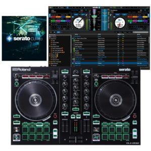 Roland DJ-202 Controller + SERATO DJ PRO Combo