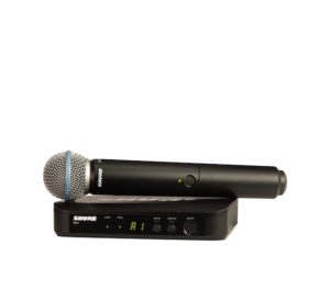 Shure BLX24/B58 Wireless Vocal System with Beta 58A