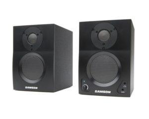 Samson MediaOne BT3 – Active Studio Monitors with Bluetooth (pair)