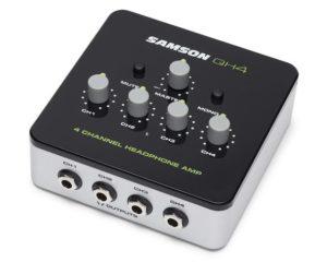Samson QH4 – 4-Channel Headphone Amplifier