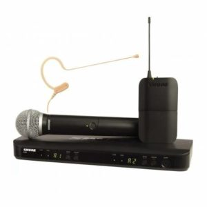 Shure BLX1288E/MX53 Wireless Combo System with SM58 Handheld Mic and MX153 Earset