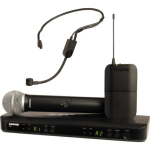 Shure BLX1288E/P31 Wireless Combo System with PG58 Handheld and PGA31 Headset
