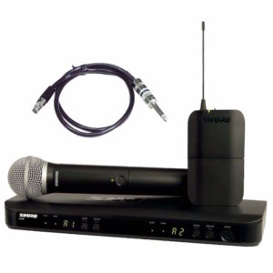 Shure BLX1288E/SM58 Wireless Guitar Combo System with SM58 Handheld Microphone