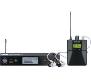 Shure P3TRA215CL Wireless Personal Monitor System Set