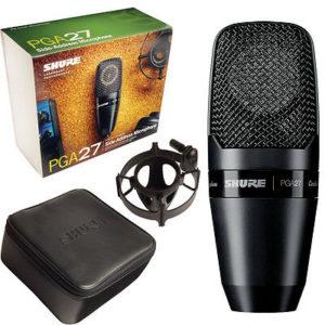 Shure PGA27-LC Studio Microphone