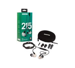 Shure SE 215 Earphone – Clear