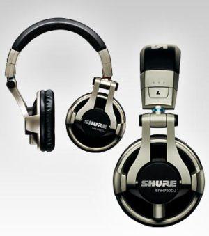 Shure SRH750 Professional DJ Headphones