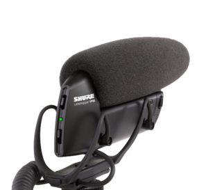 Shure VP83 LensHopper Camera-Mount Condenser Microphone