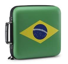 Slappa 240 HardBody Pro CD Case Brazil Flag