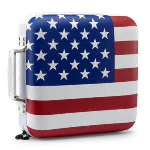 Slappa 240 HardBody Pro CD Case USA Flag