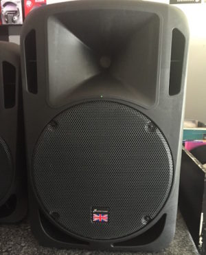 Studiomaster DRIVE 15A Active 15″ Speaker 300w class D amp /1200 peak