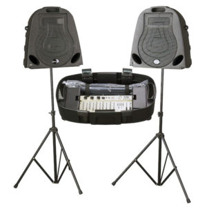 Studiomaster Walkabout S Portable 10″ Dual PA System 300w