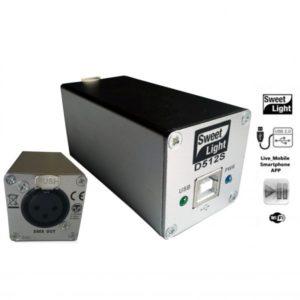 Sweetlight D512S USB DMX Software