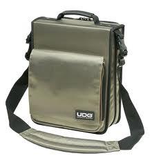 UDG CD SlingBag 258 Steel Grey Orange Interior – U9646SG