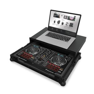 UDG Ultimate Flight Case Multi Format XL Black Plus (Laptop Shelf)