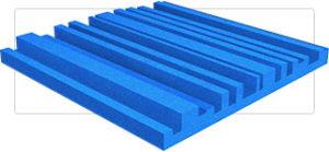 Acoustic Cityscape Foam Panel