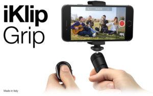 IK Multimedia iKlip Grip for Smartphones