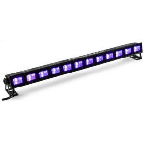 Beamz BUVW123 BAR 12X 3W UV/WHITE 2-IN-1 LEDS