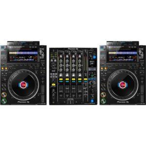 PIONEER CDJ-3000 (pair) + DJM-900 NEXUS MK2 Mixer Combo