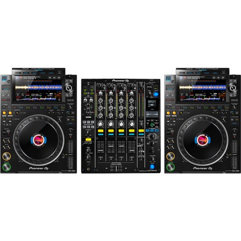 DJ Controllers and Mixer