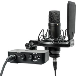 RODE NT1 & AL-1 Complete Studio Kit with Audio Interface