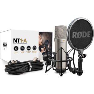 RODE NT1A Cardioid Condenser Studio Microphone Package