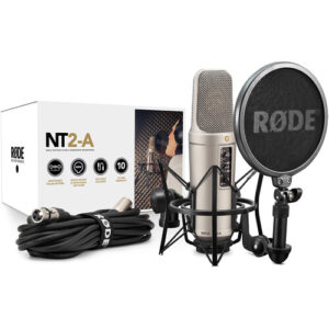 RODE NT2A Variable Pattern Studio Condenser Microphone Package