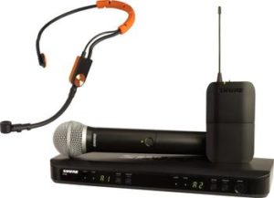 Shure BLX1288E/SM31 Wireless Combo System with SM31FH Headset and SM58 Handheld Microphone
