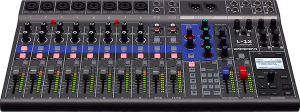Digital Mixing and Recording Console