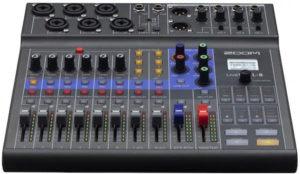 Zoom Livetrack L-8 Digital Mixer + Recorder