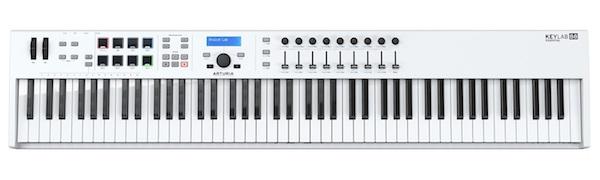 88 Keyboard White