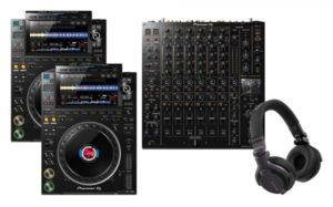 Pioneer CDJ-3000 & DJM-V10 Combo