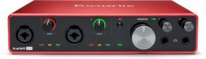 Focusrite Scarlett 8i6 Gen3 USB Audio Interface