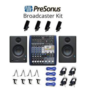 Presonus Broadcaster / Podcaster Pack